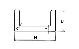ステンレス チャンネル(溝形鋼)