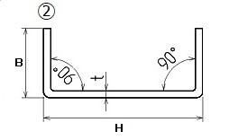 ステンレス フォーミングチャンネル(軽量溝形鋼)